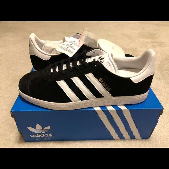 info for 99a46 c177b adidas Gazelle Suede BlackWhite Unisex Sneaker
